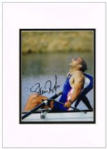 Steve Redgrave Autograph Signed Photo